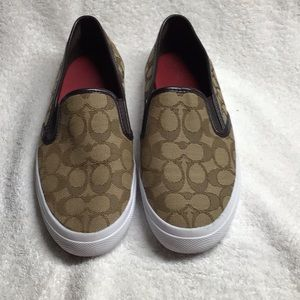 Women's Coach Slip on shoes